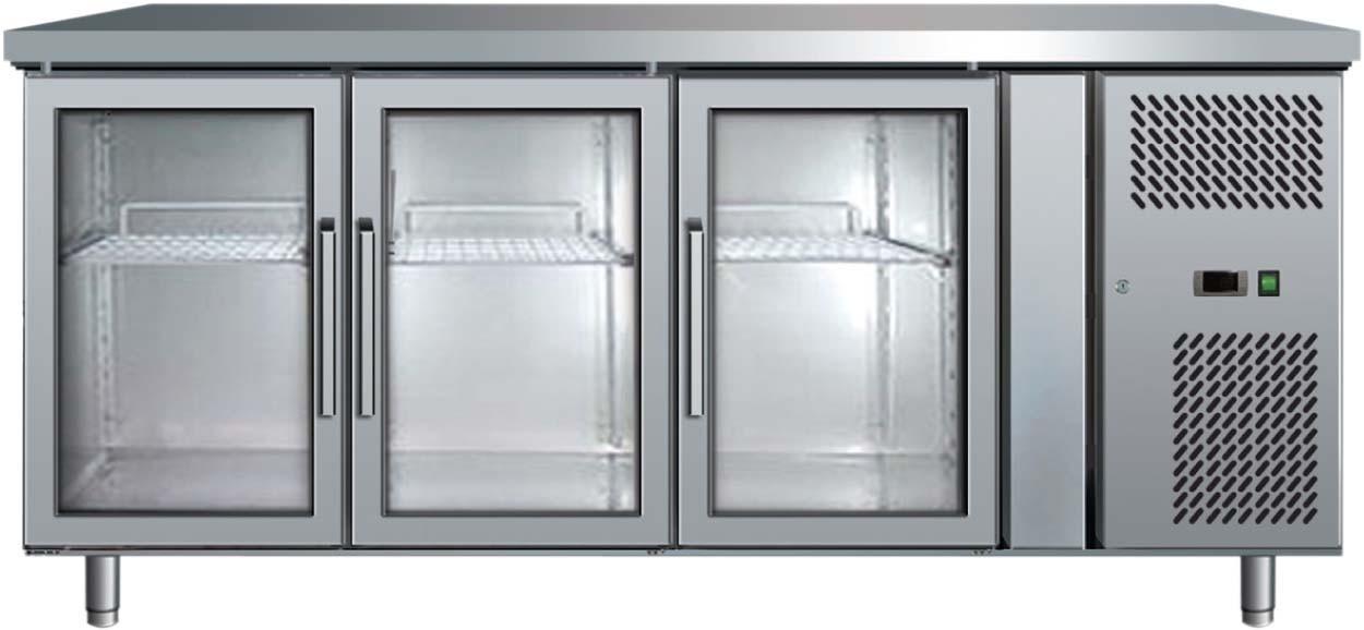 Gifm Glass Door Underbench Chiller Triple